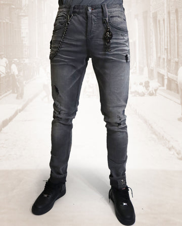 Smglr Whiskey Wash denim