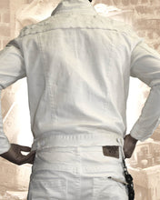 Smugglers White Lightening Denim Jacket