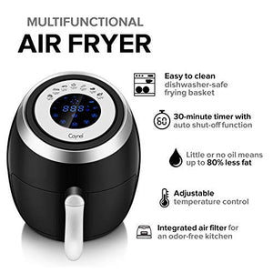 3.8 Qt Digital Air Fryer - Caynel Direct