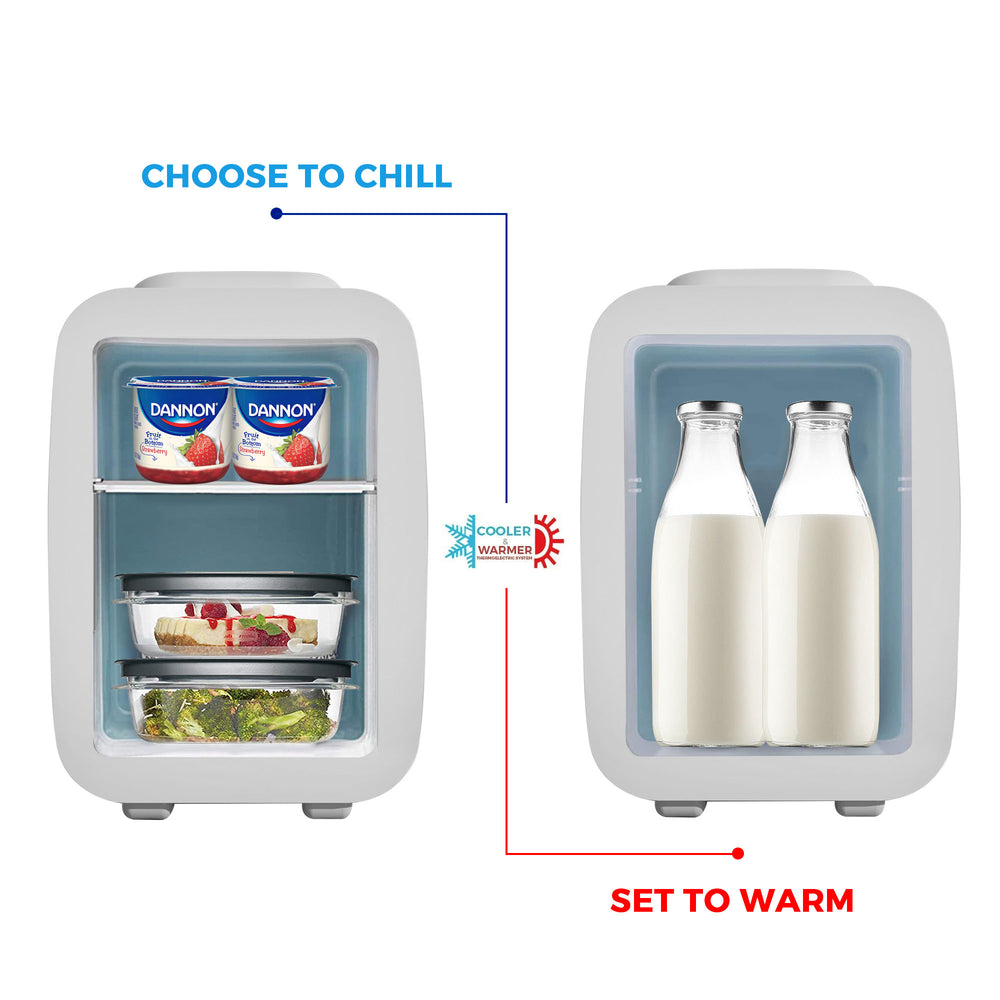 Mini Fridge Cooler and Warmer 4-liter - Caynel Direct
