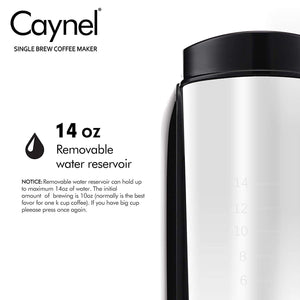 Load image into Gallery viewer, Single Serve Coffee Maker (Black) - Caynel Direct