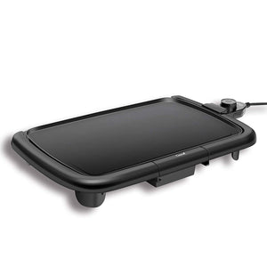 "16""x10"" Electric Griddle (Black) - Caynel Direct"