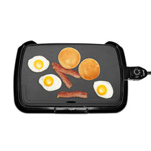 "Load image into Gallery viewer, 16""x10"" Electric Griddle (Black) - Caynel Direct"