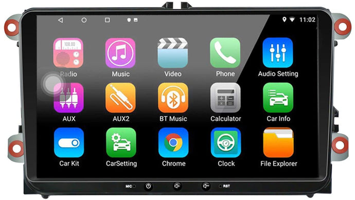 9 inch Capacitive Touch Screen High Definition GPS Navigation Unit LEXXSON Android 10.1 Car Radio Stereo with Mirror Link Bluetooth Player 2G DDR3+16G NAND Memory Flash for Toyota Tacoma 2005-2011