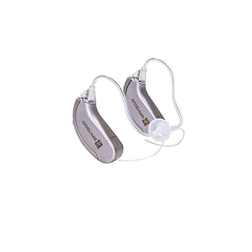 Hearing Amplifiers with Digital Noise Cancelling - 2 Pack by Britzgo BHA-702S - 1 Year Warranty!