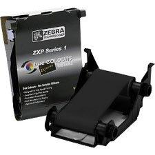 Zebra Technologies 800011-101 Load-N-Go Monochrome Ribbon for ZXP Series 1 Card Printer, Black, 1000 Labels per Roll