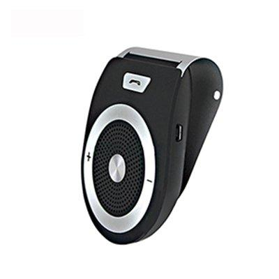 YETOR Wireless Car Speaker Bluetooth Receiver Sun Visor Speakerphone Car Stereo Player Hands-free Car Kit for iPhone X/ iPhone 8/Plus Samsung Support
