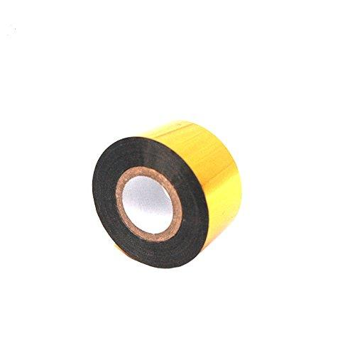 MXBAOHENG Ribbons for DY-8 / HP-241B Ribbon Coding Printer Machine Colored Tapes (Gold)