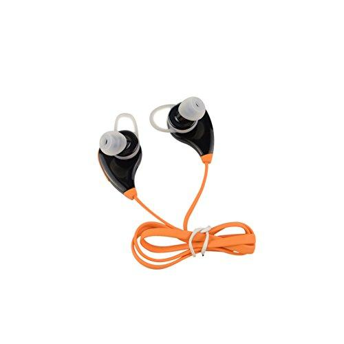 ZongWo Metal In-Ear Earbuds Earphones Intelligent drive-by-wire Headphones for iPhone, Android Smartphone, tablet PC (orange)