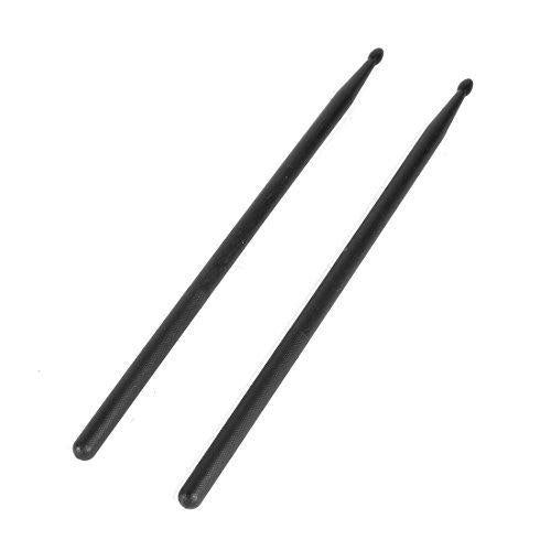 DealMux 1 Pair 5A Nonslip Grip Music Band Plastic Drum Sticks Drumsticks