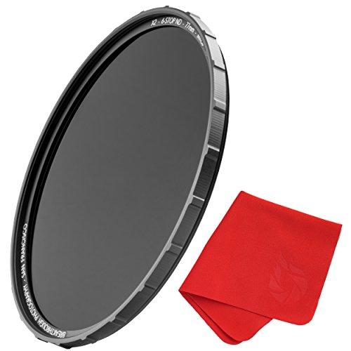 72mm X2 6-Stop ND Filter For Camera Lenses - Neutral Density Professional Photography Filter with Lens Cloth - MRC8, Nanotec, Ultra-slim, Weather-Sealed by Breakthrough Photography
