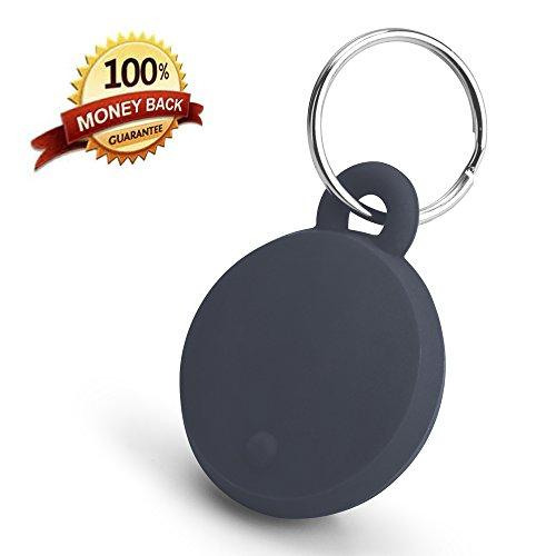 KEY FINDER & TRACKER, 'TRACE IT' KEYCHAIN, Best Wireless Bluetooth Locator for Keys, Bag, Purse, Wallet, Pet, Child, Free Phone App, Lost Location Alarm & Pin Map History, Camera Shutter Operation
