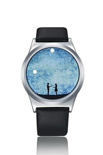 ZRD Star Smart Touch Screen Watch Student Watches Couple Watches (pattern random delivery) (Silver)
