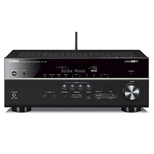 Yamaha RX-V681 7.2-Channel 4K AV Receiver with Wi-Fi/Bluetooth/MusicCast and Klipsch RP-250F Reference Premiere Floorstanding Speaker - Pair (Ebony)