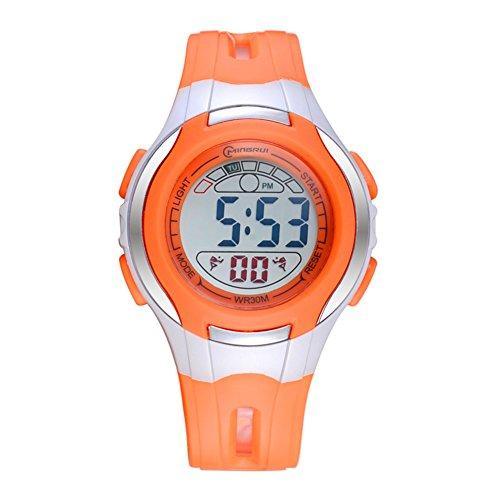 [child] Digital watches,Waterproof Luminous [lovely] Alarm clock Watch Boy Girl watches Pin buckle strap-G