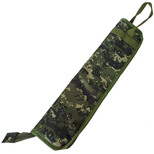 Xinlink Professional Waterproof Drumstick Case Camouflage Pattern Carrying Gig Bag Covers with Shoulder Strap Kids Children Drum Stick Mallet Percussion Instrument Accessories