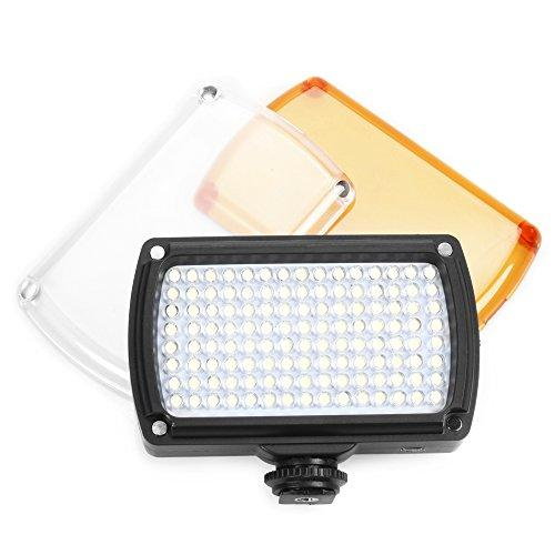ASHANKS LED96 On Camera LED Video Light Hotshoe Digital Cameras Camcorder Lighting for Canon, Nikon, Pentax, Panasonic,SONY, Samsung and Olympus Digital SLR Cameras Wedding Shooting