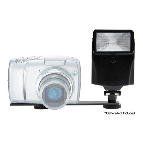 Pro Digital Auto Slave Flash with Bracket Set for Nikon Coolpix L22, L24, L120, P100, P300, P500, P7000, S70, S1100pj, S3000, S3100, S4000, S4100, S5100, S6000, S6100, S8000, S8100 & S9100 Digital Cameras