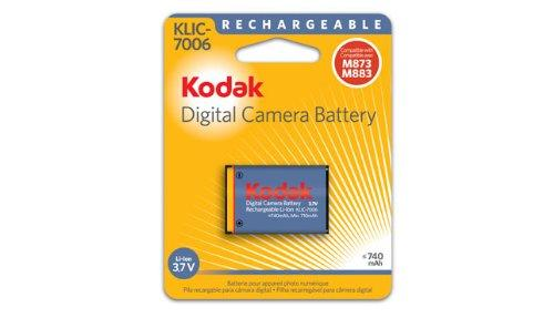 Kodak 3.7 Volt Li-Ion Rechargeable Digital Camera Battery - KLIC-7006