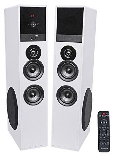 Rockville TM80W Bluetooth Home Theater Tower Speaker System w/(2) 8