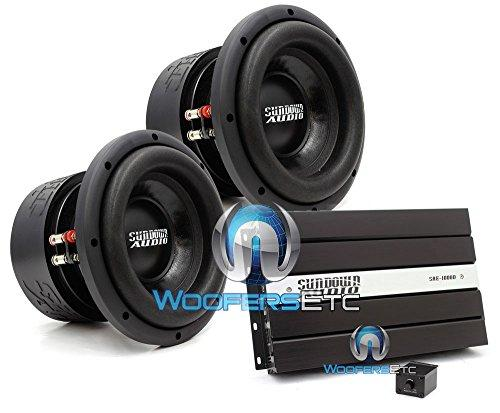 pkg Pair of Sundown Audio SA-8 V1.5 D4 8