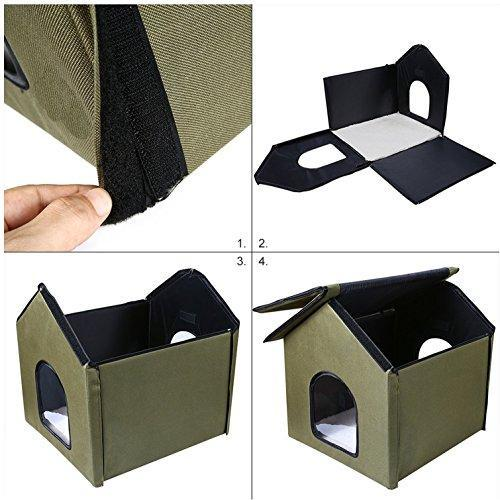 Outdoor Indoor Cat House By Pet Peppy You Buy I Ship