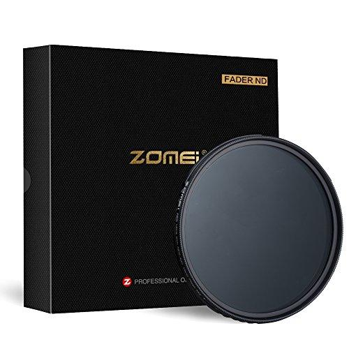 ZOMEi 77mm Variable Neutral Density Filter 77VND for Camera lenses