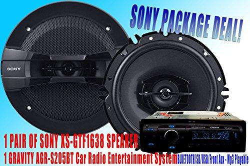 SONY Package Deal! 1 Pair Sony 6.5