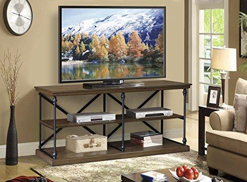 60-inch TV Media Stand Console Bookshelf By BroyerK