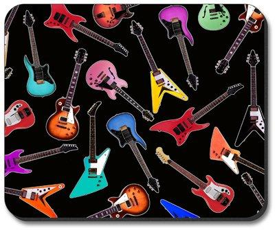 Guitars - Electric Mouse Pad - By Art Plates