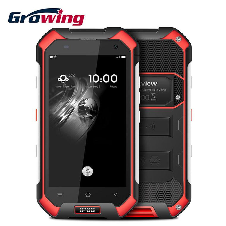 Original Blackview BV6000 Waterproof Cell Phones 4.7 Inch Android 6.0 Mobile Phone MT6755 Octa Core 3G RAM 32G ROM Smartphone