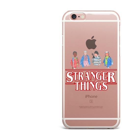 Stranger Things Christmas Lights Clear Soft silicone TPU Phone Case For iphone 7 7Plus 6S 6Plus 5 5S SE 8 8Plus X 10 Cover