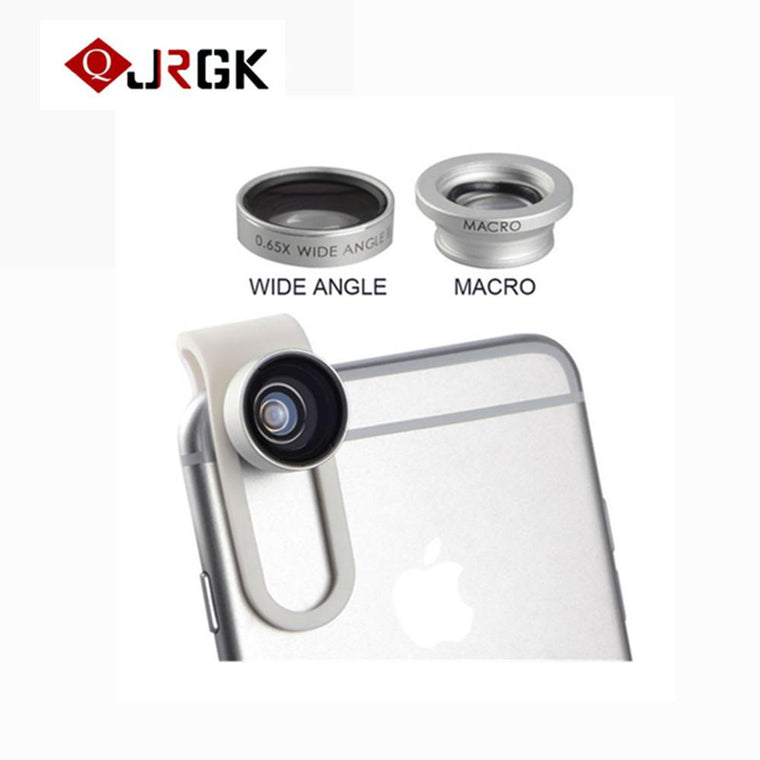 Universal Mobile Phone Camera Lenses fish eye Wide Angle lens Macro lens For iPhone iPad Samsung Sony HTC LG Xiaomi smartphone