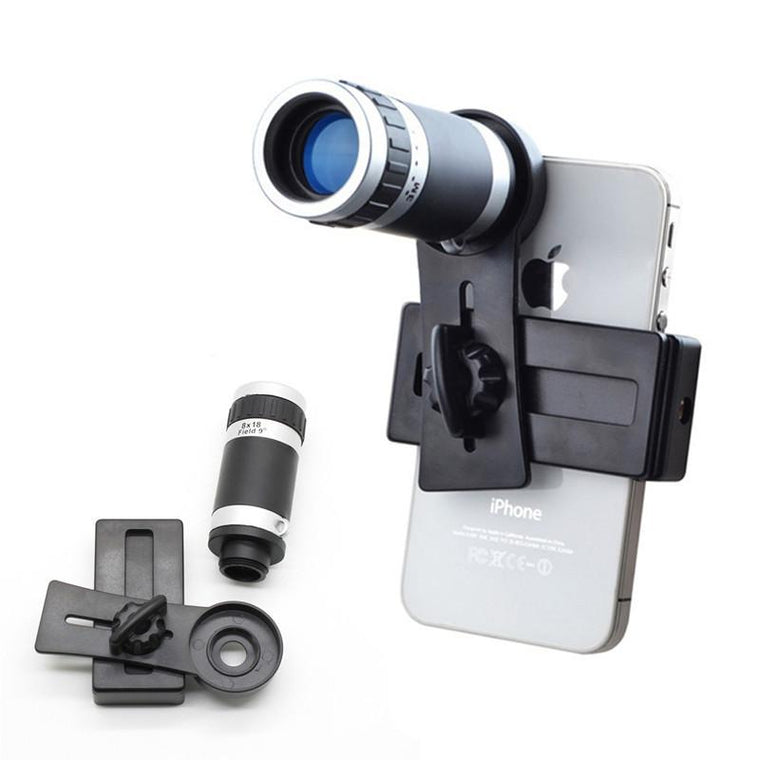 Universal Mobile phone Camera Lenses 8X Telescope Zoom Telephoto Lens For Samsung Galaxy S3 S4 S5 S6 S7 Edge S8 Phone Lents
