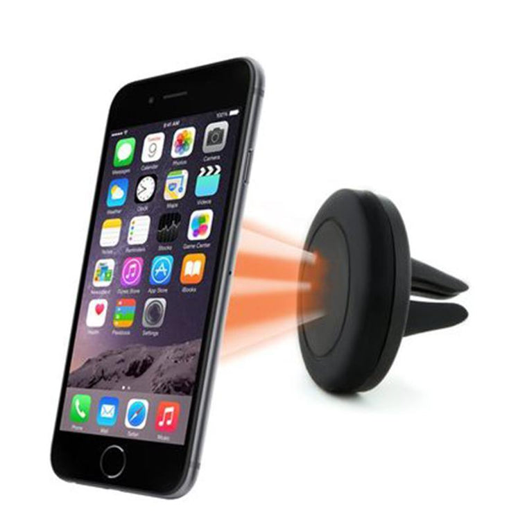 Universal magnetic car holder 360 degrees air vent mount magnet holder stands for iphone 6s 5s samsung mobile phone accessories