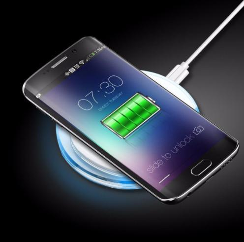 Wireless Charger For The Phone Pad Mat Mobile Phone Accessories Edge Desktop Fast Wireless Charging Pad