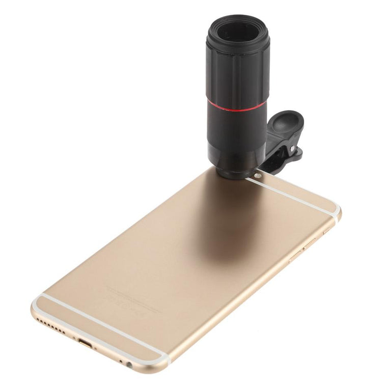 With Clip 8X Zoom Telephoto Lens Mobile Phone Camera Lenses Telescope Lentes For iPhone 4 5 5C 5S SE 6 6S 7 Plus Phone Lenses