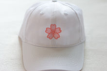 "Load image into Gallery viewer, ""New Beginnings"" Sakura - Hat (White)"