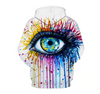 Image of Painted Eye Hoodie