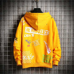 Oversized Yellow Japanese Streetwear