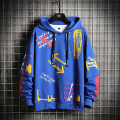 Oversized Blue  Japanese Streetwear