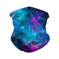 Galaxy Blue Scarf