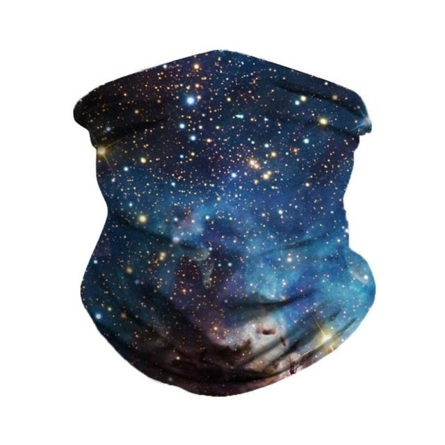 Galaxy Black Scarf