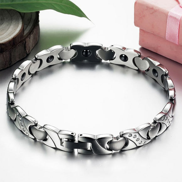 Men's Heart Magnetic Bracelet