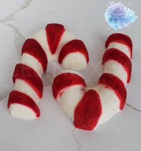 Load image into Gallery viewer, Candy Cane Bath Bomb-Celine XO