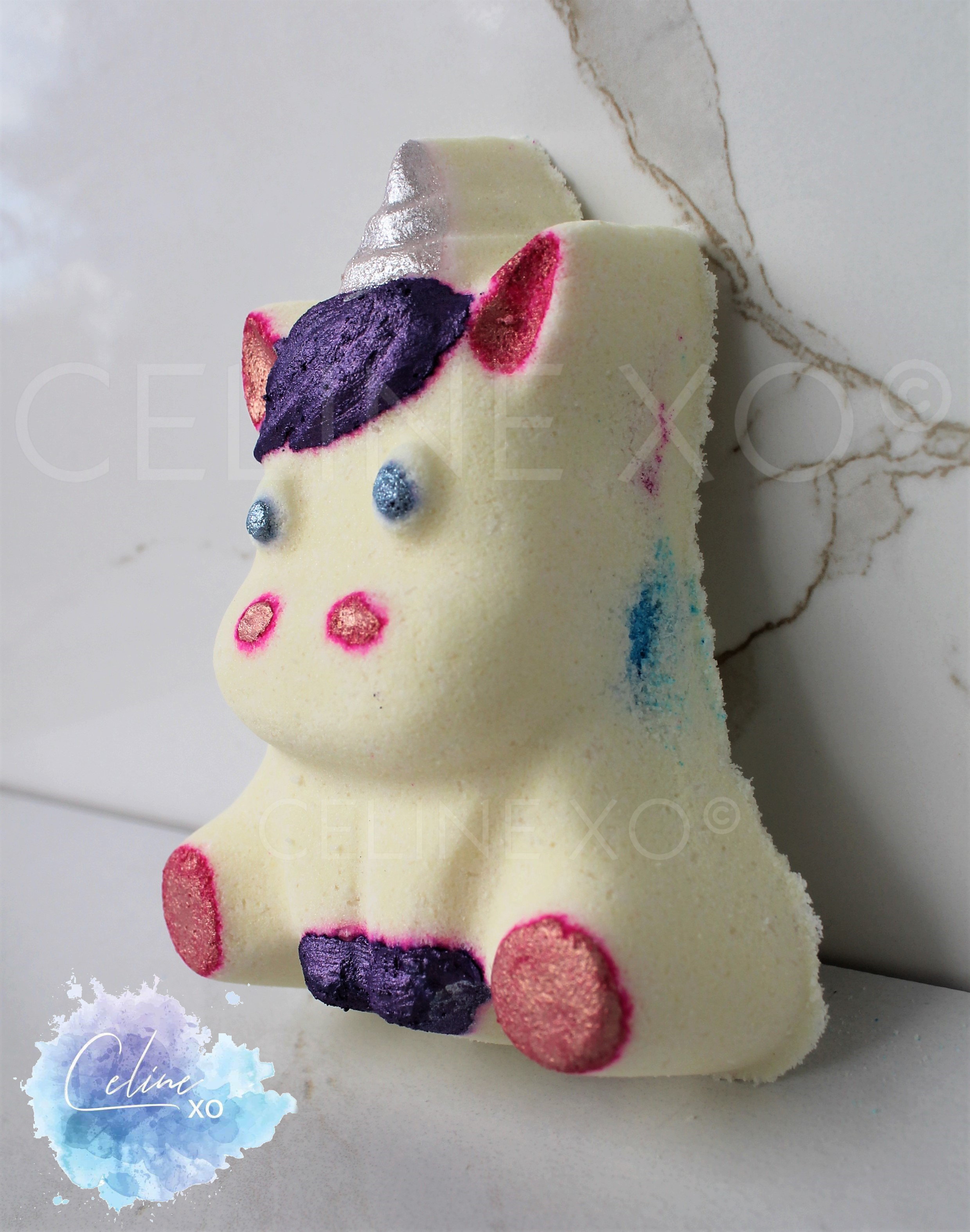 """Celine"" Unicorn Bath Bomb"