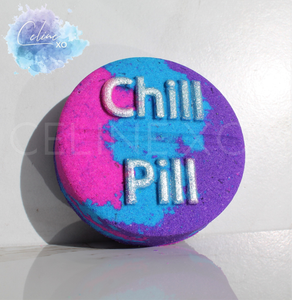 """Chill Pill"" Bath Bomb-Celine XO"