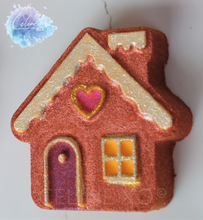 Load image into Gallery viewer, Gingerbread House Bath Bomb-Celine XO