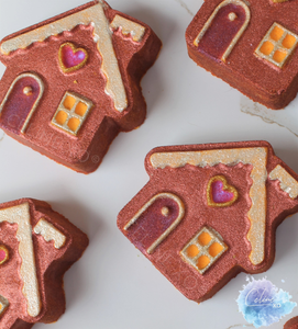 Gingerbread House Bath Bomb