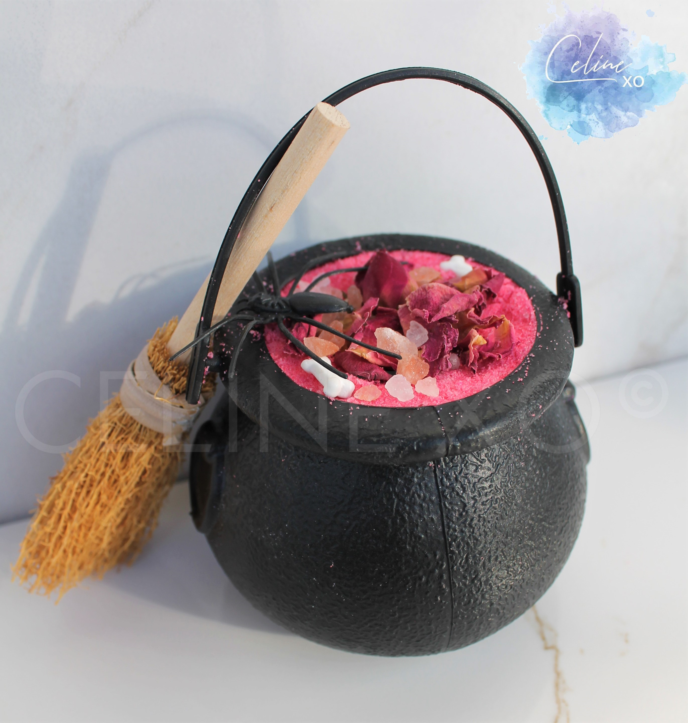 Love Spell Cauldron Bath Bomb